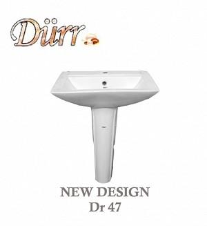 Durr New Design Basin & Pedestal Model:(Dr 47)