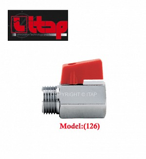 Itap Mini Ball Valve Male/Female Thread Model:(126)