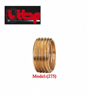 Itap Brass Reducer Bush 1/2 X 3/8 Model:(275)