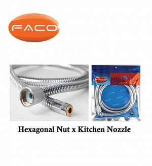 Faco Hexagonal Nut x Kitchen Nozzle
