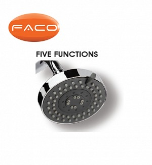 Faco Shower Head (Five Fuction)