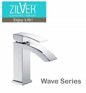 Zilver Wave Single Lever Basin Mixer Normal