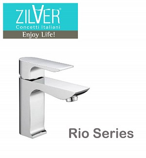 Zilver Rio Series Single Lever Basin Mixer 1/2″ Normal