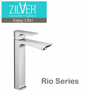 Zilver Rio Series Basin Mixer Long