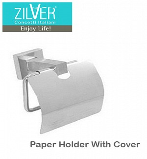 Zilver Paper Holder With Cover
