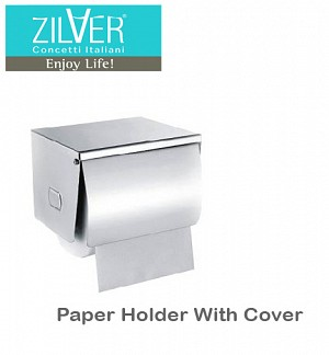 Zilver Paper Holder With Cover 1