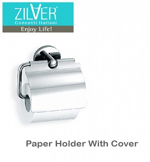 Zilver Paper Holder With Cover 2