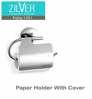 Zilver Paper Holder With Cover 4
