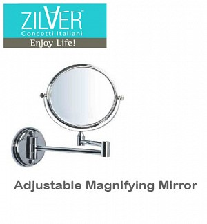 Zilver Adjustable Magnifying Mirror