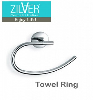 Zilver Eco Series Towel Ring