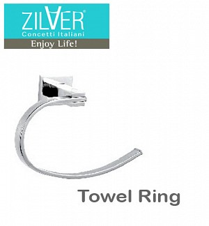 Zilver Platz Series Towel Ring