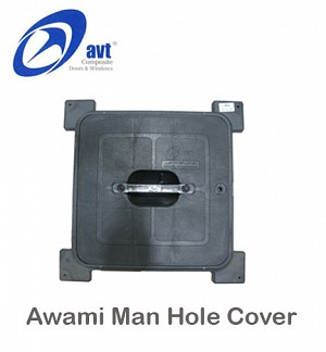 AVT ManHole Cover Awami Black