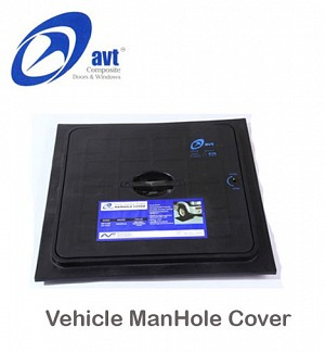 AVT ManHole Cover Vehicle Black