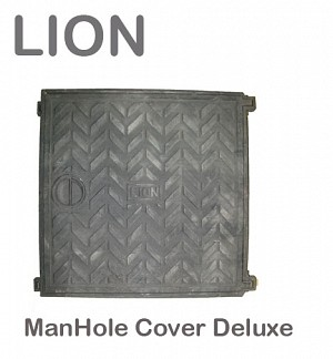 Lion ManHole Cover Deluxe 18
