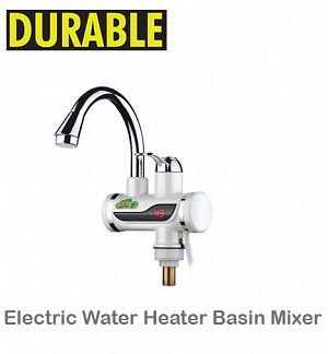 Electric Water Heater Basin Mixer