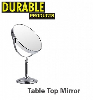 Shaving / Magnifying Table Top Mirror