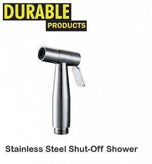Stainless Steel Shut Off Shower Set Complete