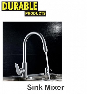 Durable Aluminum Sink Mixer