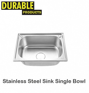 Stainles Steel Sink Single Bowl