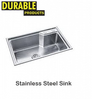 Stainless Steel Kitchen Sink 68 x 44