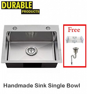 HandMade Kitchen Sink Single Bowl 69 x 44