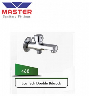 Master Eco Tech Double Bibcock (468)