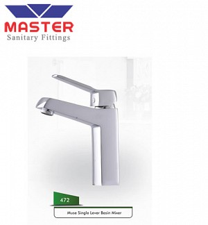 Master Muse Single Lever Basin Mixer (472)