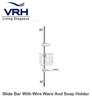 Vrh Slide Bar With Wire Ware And Soap Holder (FJVHP-00066S)