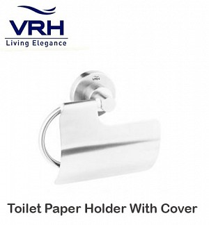 Vrh Toilet Paper Holder With Cover (FBVHM-A104AS)