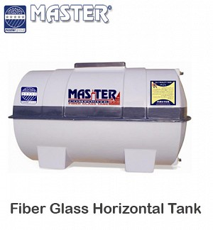 Master Fiber Glass Horizontal Water Tank 1500 GLN (1H12)