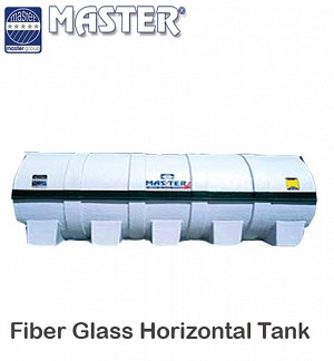 Master Fiber Glass Horizontal Water Tank 7500 GLN (1H19)