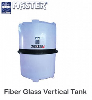 Master Fiber Glass Vertical water Tank 1500 GLN (1V11)