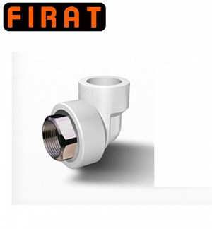 Firat PPR-C Hexagonal Female Thread Elbow