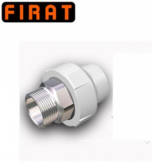 Firat PPR-C Hexagonal Male Thread Socket