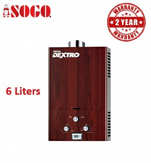 Sogo Brown Wood 6 Ltrs Water Heater / Geyser