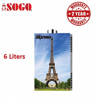 Sogo Eiffel Tower 6 Ltrs Water Heater /Geyser