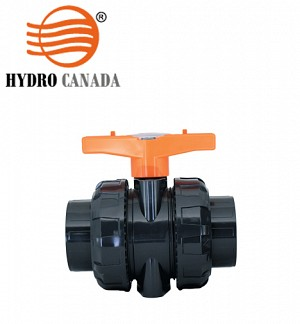 Hydro Canada Upvc Double Union Ball Valve SCH-80
